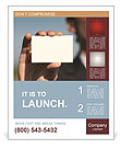 Exchange Business Card Poster Template