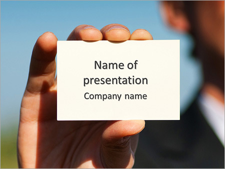 Exchange business card powerpoint template backgrounds google exchange business card powerpoint template cheaphphosting Images