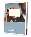 Exchange Business Card Presentation Folder