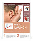 Hearing Aid Flyer Template