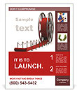 Red Curpet Poster Template