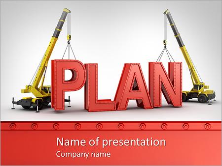 Construction Plan PowerPoint Template