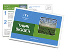 Organic Orchard Postcard Templates