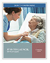 Retired Woman At Hospital Word Templates