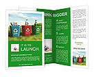 Collect Waste Products Brochure Templates