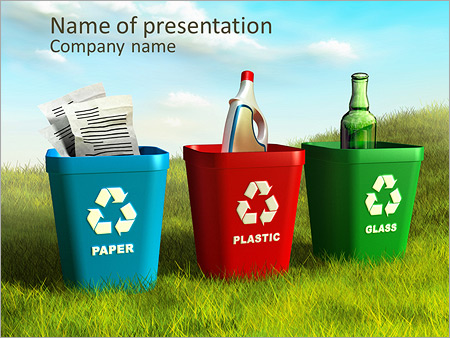 Collect waste products powerpoint template backgrounds id collect waste products powerpoint templates toneelgroepblik Images