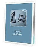 Virus Detected Presentation Folder
