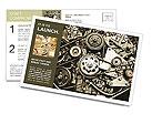Fix Mechanism Postcard Template