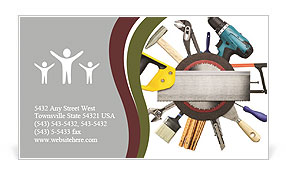 Mechanician Kit Business Card Templates