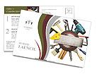 Mechanician Kit Postcard Template