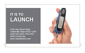 Diabetes Business Card Templates