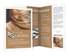 Long Hair Brochure Templates