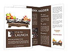 Healthy Against Fast Food Brochure Templates