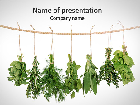 Dry herbs powerpoint template backgrounds google slides id dry herbs powerpoint template toneelgroepblik Images