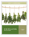 Dry Herbs Word Templates