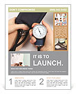 Measure Blood Pressure Flyer Templates