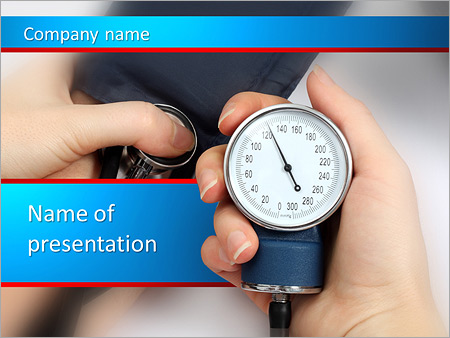 Measure blood pressure powerpoint template backgrounds id measure blood pressure powerpoint templates toneelgroepblik Choice Image