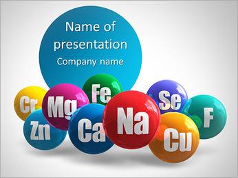 Minerali I pattern delle presentazioni del PowerPoint
