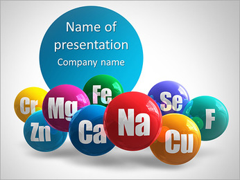 Minéraux Modèles des présentations  PowerPoint - Diapositives 1