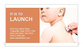 Pediatrics Business Card Template