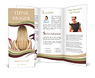 Dry Hair Brochure Templates