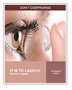 Contact Lenses Word Templates