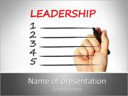 Leadership Definition PowerPoint Templates