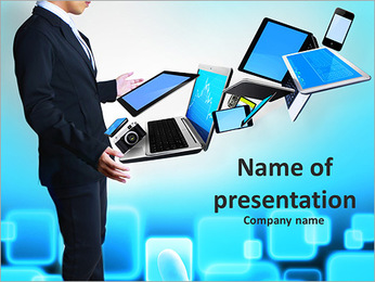 Modern Technologies PowerPoint Template