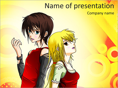 anime powerpoint template backgrounds google slides id