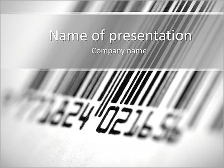 barcode powerpoint template smiletemplates com