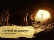 Jaskinia Szablony prezentacji PowerPoint