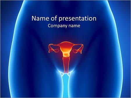 Gynécologie Modèles des présentations  PowerPoint