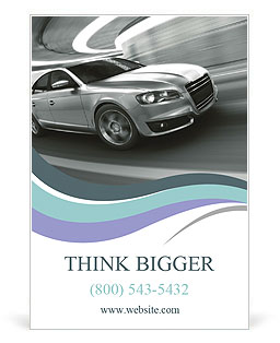 posh car ad template design id 0000006902 smiletemplates com