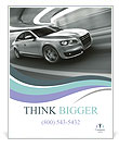 Posh Car Poster Template