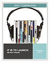 Loud Headphones Word Templates