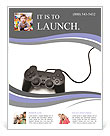 PlayStation Flyer Template