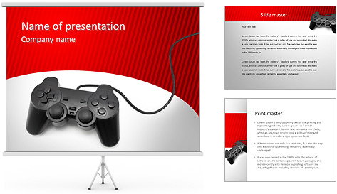 PlayStation PowerPoint Template