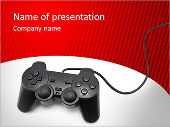 PlayStation PowerPoint Template - Slide 1