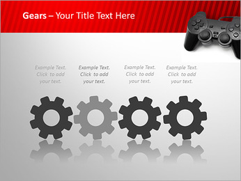 PlayStation PowerPoint Template - Slide 28