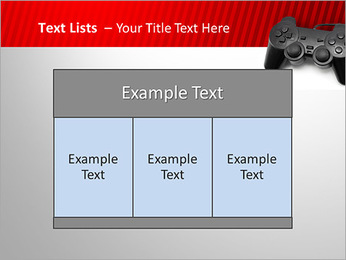 PlayStation PowerPoint Template - Slide 39