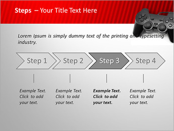 PlayStation PowerPoint Template - Slide 4