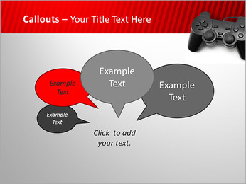 PlayStation PowerPoint Template - Slide 53