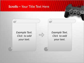 PlayStation PowerPoint Template - Slide 54