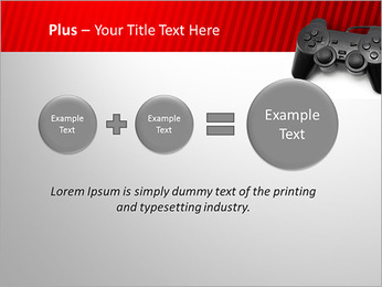PlayStation PowerPoint Template - Slide 55