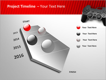 PlayStation PowerPoint Template - Slide 6