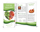 Love Vegetables Brochure Templates