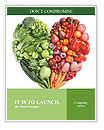 Love Vegetables Word Templates