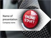 Engine Start PowerPoint presentationsmallar