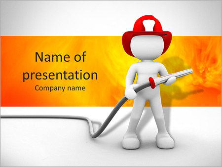 Extinguish Fire Powerpoint Template Backgrounds Google Slides