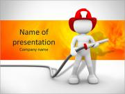 Extinguish Fire PowerPoint Templates